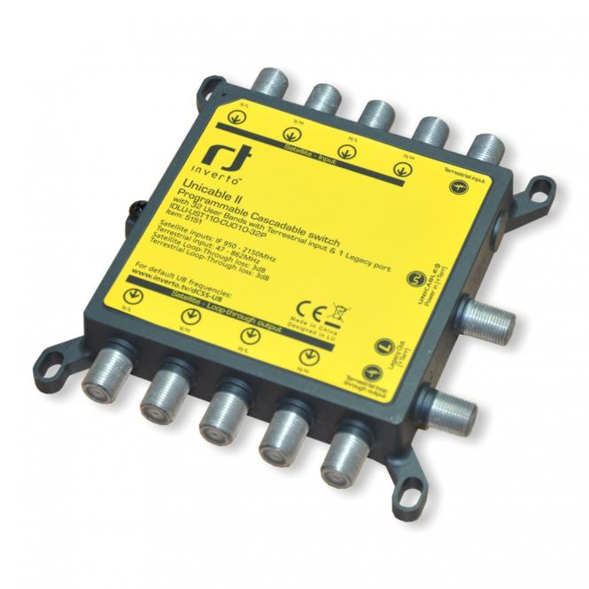 Unicable 2 Switch   Inverto 32 Teilnehmer