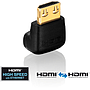 ADP HDMIm - 90 - HDMIf   HDMI Winkelstecker Adapter passiv